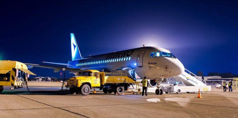 Предновогодняя распродажа авиабилетов от «ИрАэро»